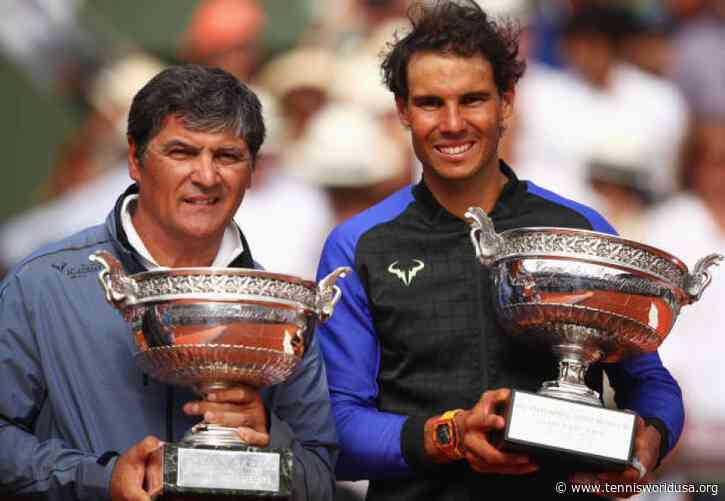 Toni Nadal shares how many tournaments Rafael should be playing in