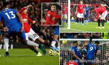 Manchester United 1-1 Everton: Mason Greenwood rescues Ole Gunnar Solskjaer