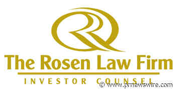 AURORA CANNABIS LOSS NOTICE: TOP RANKED ROSEN LAW FIRM  Reminds Aurora Cannabis Inc. Investors of Important Deadline in Securities Class Action - ACB