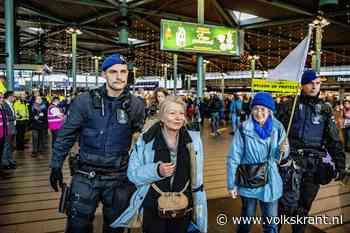 Demonstreren in 'het hart van een van de grootste vervuilers van Nederland'