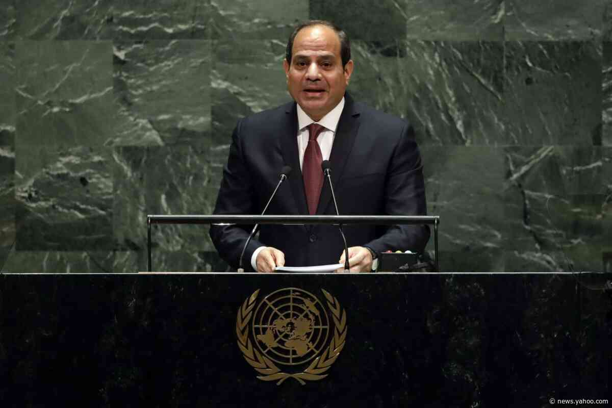 Egypt's el-Sissi says militias hold Libyan gov't 'hostage'