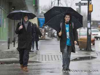 Vancouver weather: Prepare for more rain