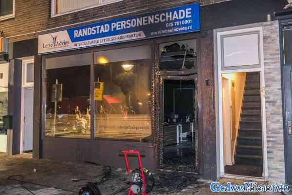 Beelden online gezet van brandstichting in Presikhaaf