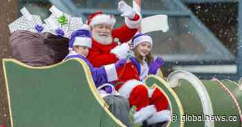 Watch the 2019 Vancouver Santa Claus Parade right here