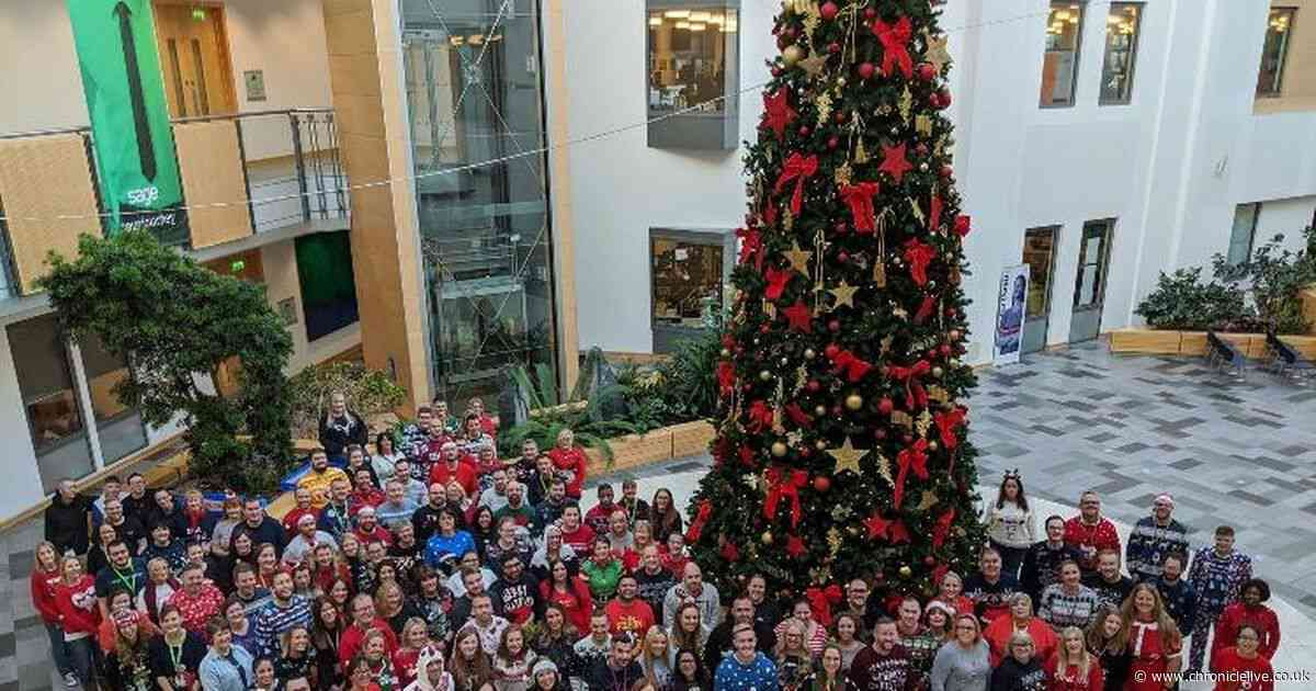 Christmas Jumper Day raises thousands which will change the lives of disabled North East children