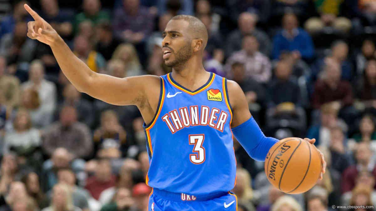Fantasy Basketball Rankings, Week 9: Model that beat experts says start Chris Paul, sit Jrue Holiday