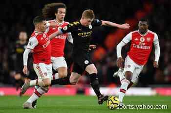 Man City crush Arsenal, Spurs grab late win at Wolves