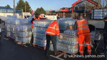 Residents facing third night without water as deadline for fix pushed to Monday