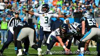 Russell Wilson posts perfect rating in first half