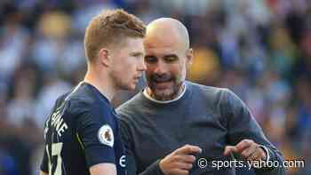 """Pep on KDB: """"He sees passes normal humans can't see"""""""