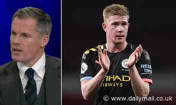 Jamie Carragher hails Manchester City star Kevin De Bruyne after sensational display at Arsenal