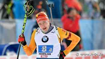 Wintersport-Wochenende kompakt: Biathleten feiern Platz zwei wie einen Sieg