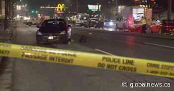 Pedestrian struck by vehicle in Surrey dies in hospital