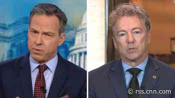 Tapper to Rand Paul: You really think Trump cares about corruption?