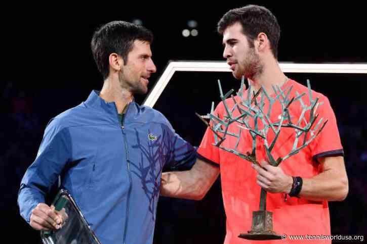 Novak Djokovic's strategy analyst praises Karen Khachanov