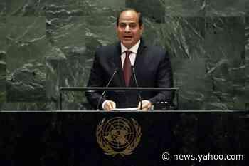 Egypt's el-Sissi says militias hold Libyan gov't 'hostage'