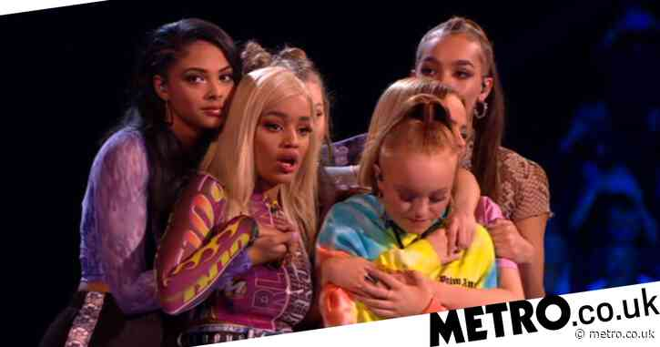 X Factor: The Band crown girl band Real Like You winners of Simon Cowell's spin-off series