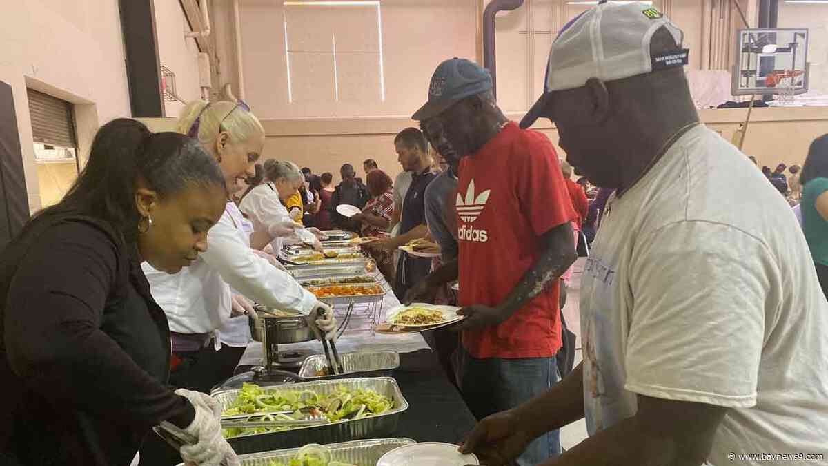 Lakeland Woman Organizes Holiday Banquet for Area Homeless