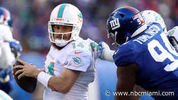 Dolphins Fall to Giants in What May Be Manning's Final Home Start for New York