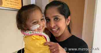 Gravely ill toddler who needs kidney saved by transplant from NHS radiographer