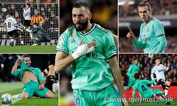 Valencia 1-1 Real Madrid: Karim Benzema scores stoppage-time equaliser for Zinedine Zidane's side