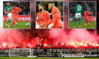 Saint-Etienne 0-4 PSG: Icardi and Mbappe strike to send Ligue 1 leaders seven points clear