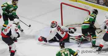 London Knights spot Spitfires early lead in Sunday afternoon loss