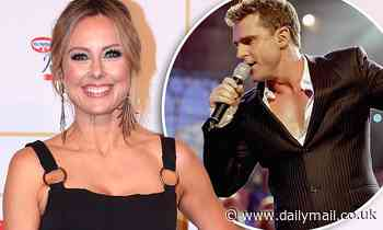 Allison Langdon is banned by David Campbell from singing at the Carols By Candlelight