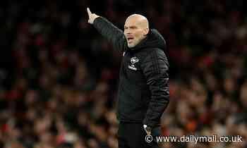 Arsenal interim boss Freddie Ljungberg makes baffling claim after defeat by Manchester City