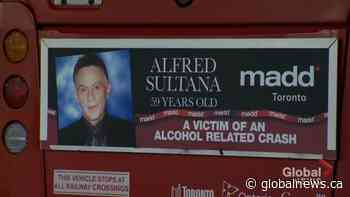Photos on TTC buses pay tribute to impaired driving victims