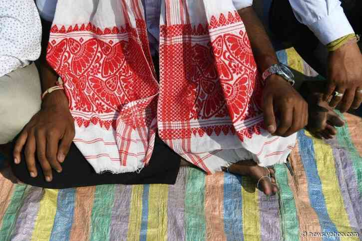 Assam's 'sons of the soil' cherish new protest symbol