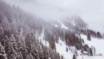 Skiwanderer verschüttet: Deutscher stirbt bei Lawinenabgang