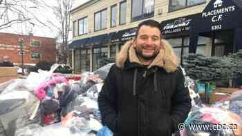 Community toy drive fills 3 trucks with donations bound for Welcome Hall Mission