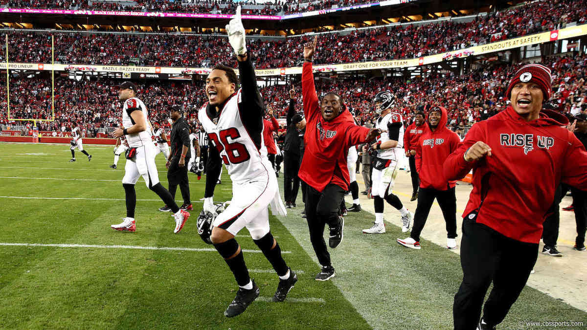 Falcons-49ers bettors watched the Over hit via a bizarre special teams touchdown on final play
