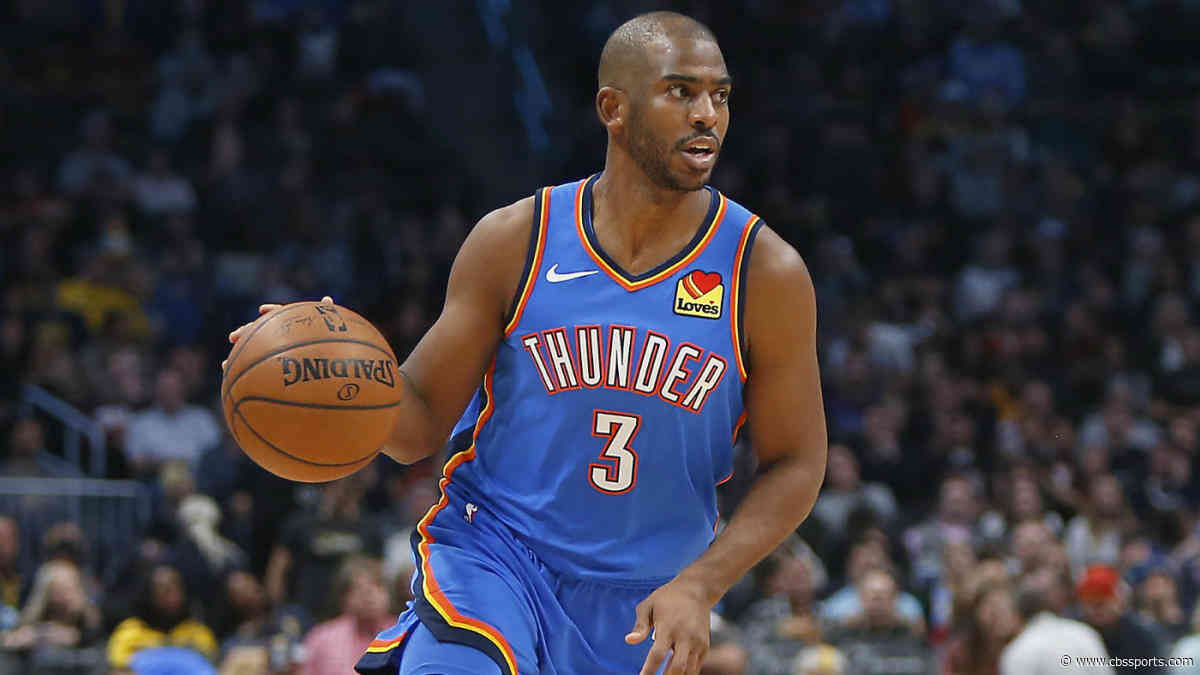 Chris Paul trade rumors: No belief that the Thunder will trade their All-Star point guard this season
