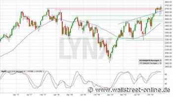 LYNX: Euro Stoxx: Die Pflicht ist erledigt, reicht es auch für die Kür?