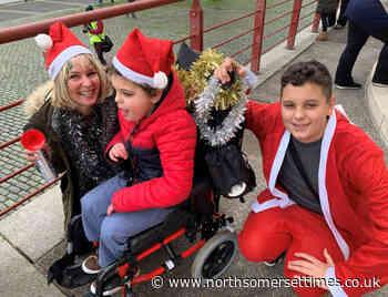 Santas raise thousands for children's hospice