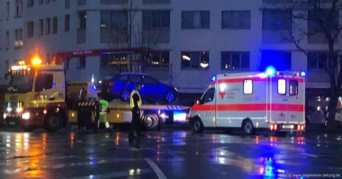 Verkehrsunfall am Mainzer Alicenplatz