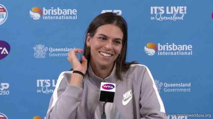 Ajla Tomljanovic to Replace Amanda Animisova in Mubadala Championships in Abu Dhabi
