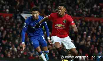 Ryan Giggs gives damning assessment of Man United's Anthony Martial after draw against Everton
