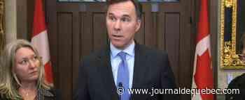 La mise à jour économique d'Ottawa dévoilée lundi