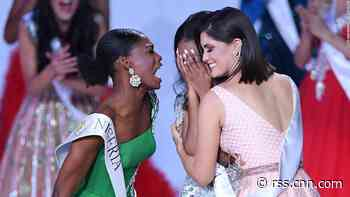 See how Miss Nigeria reacted to Jamaica wining the Miss World title