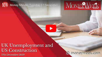 Money Minute Tuesday 17 December: UK unemployment and American houses