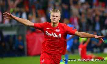 Leipzig chief confirms Erling Haaland offer as they battle with Manchester United
