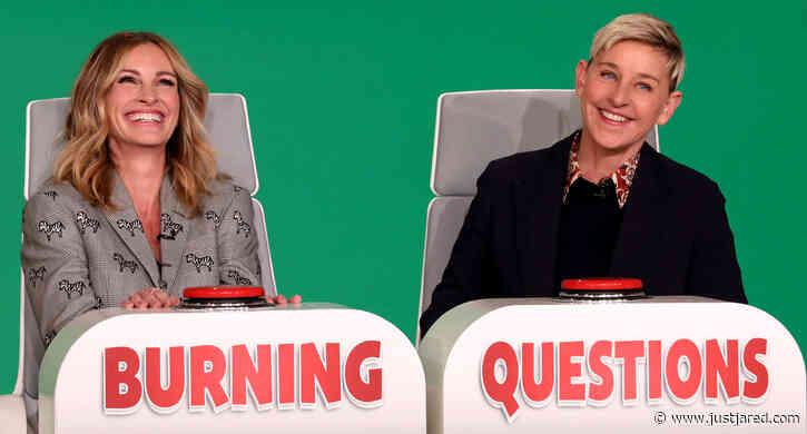 Julia Roberts Is Asked to Choose Between Former Co-Stars Brad Pitt, George Clooney & Tom Hanks!