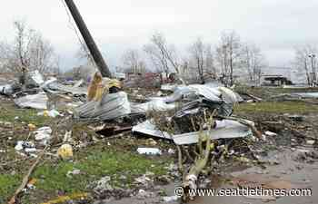4 dead as suspected twisters, other storms batter the South