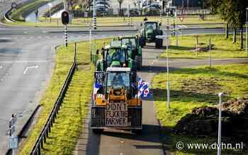 Ook lange files op de A7? Boze boeren rijden van Vlagtwedde naar Eemshaven