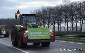 Duitse boeren sluiten zich aan bij boerenprotest