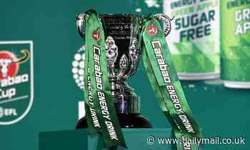 Carabao Cup draw: When is it, how to watch, teams taking part in semi-final?