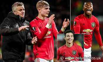 Ole Gunnar Solskjaer will give Manchester Utd youngsters chance Carabao Cup tie against Colchester